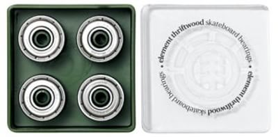 Element Thriftwood Skateboard Bearings - silver - view large