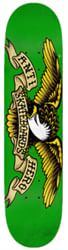 Anti-Hero Classic Eagle MD 7.81 Skateboard Deck - kelly green