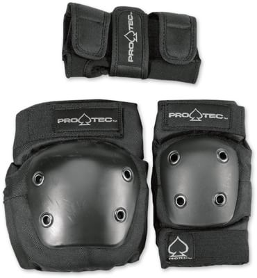 ProTec Street Gear Junior 3-Pack Pad Set - black - view large