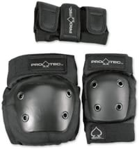 ProTec Street Gear Junior 3-Pack Pad Set - black
