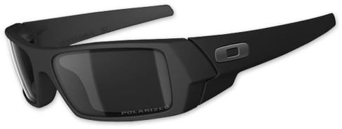 oakley matte black sunglasses ve7d  oakley gascan