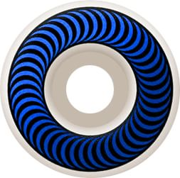 Spitfire Classic Skateboard Wheels - white/blue (99d) - view large