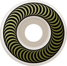 Spitfire Classic Skateboard Wheels - white/gold (99d) - view large