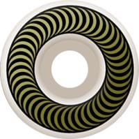 Spitfire Classic Skateboard Wheels - white/gold (99d)