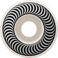 Spitfire Classic Skateboard Wheels - white/silver (99d)