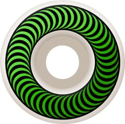 Spitfire Classic Skateboard Wheels - white/green (99d) - view large