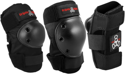 Triple Eight Saver Series High Impact Pad 3-Pack - black - view large