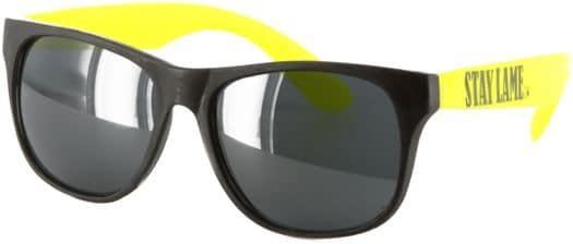 Lowcard Stay Lame Sunglasses - black/yellow - view larg