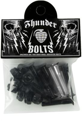Thunder Trucks Phillips Thunder Bolts Skateboard Hardware - black/silver - view large