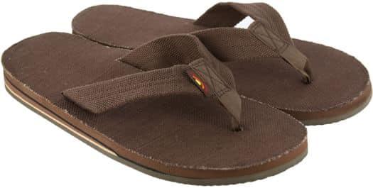 1c449df2477fd4 Rainbow Sandals Hemp Double Layer Eco Sandals  45.95