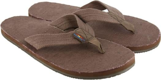 Rainbow Sandals Hemp Single Layer Eco Sandals - brown - view large