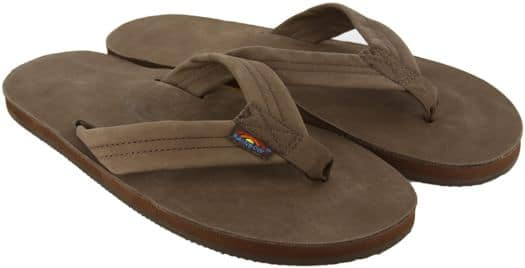 Rainbow Sandals Premier Leather Single Layer Sandals - expresso - view large