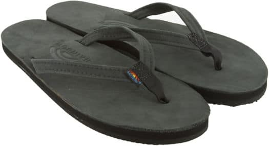Rainbow Sandals Women's Premier Leather Narrow Strap Sandals - black - view large