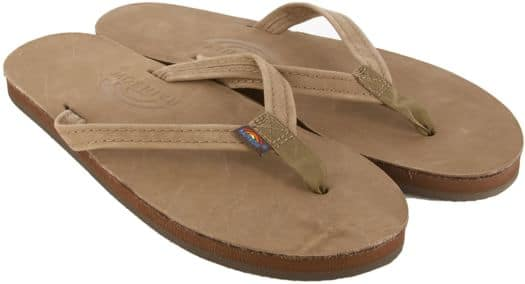 Rainbow Sandals Women's Premier Leather Narrow Strap Sandals - dark brown - view large