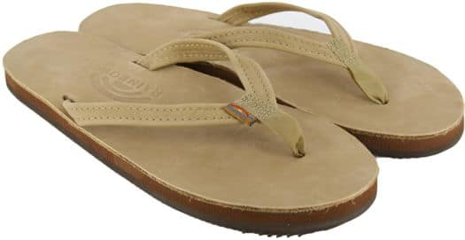 Rainbow Sandals Women's Premier Leather Narrow Strap Sandals - sierra brown - view large