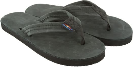 Rainbow Sandals Women's Premier Leather Wide Strap Sandals - black - view large