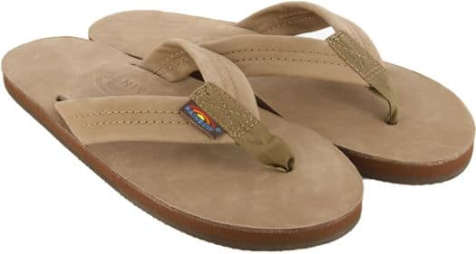 Rainbow Sandals Women's Premier Leather Wide Strap Sandals - dark brown - view large