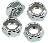 Independent Genuine Parts Axle Nuts (Set Of 4) - silver