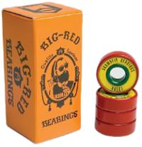 SK8MAFIA Big Red Rasta ABEC 7 Skateboard Bearings - rasta