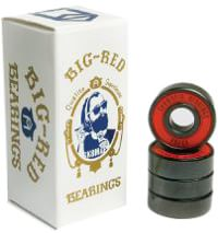 SK8MAFIA Big Red ABEC 5 Skateboard Bearings - red