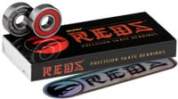 Bones Bearings Reds Skateboard Bearings - red