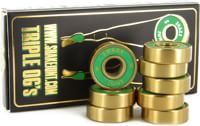Shake Junt Triple OG ABEC 7 Skateboard Bearings - green/gold