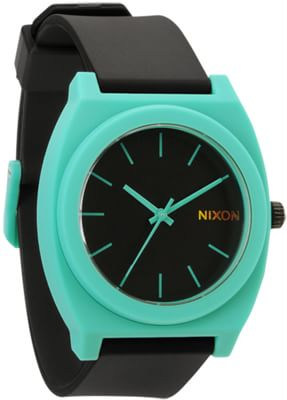 Nixon Time Teller P Watch - black/teal - view large