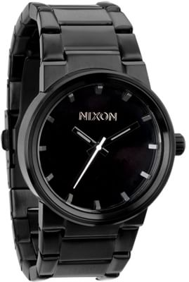 Nixon Cannon Watch - all black - view large