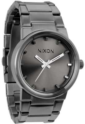 Nixon Cannon Watch - all gunmetal - view large