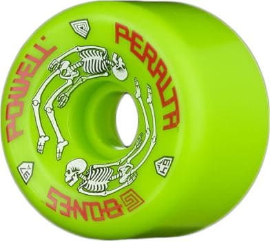 Powell Peralta G-Bones Re-Issue Skateboard Wheels - green (97a) - view large