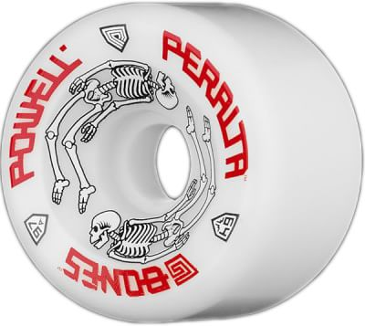 Powell Peralta G-Bones Re-Issue Skateboard Wheels - white (97a) - view large