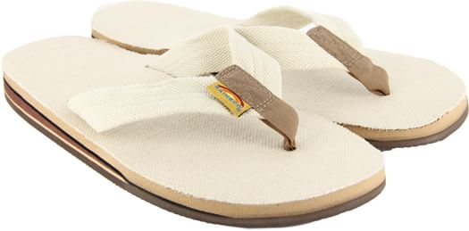 Rainbow Sandals Hemp Double Layer Eco Sandals - natural - view large