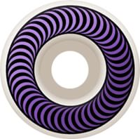 Spitfire Classic Skateboard Wheels - white/purple (99d)