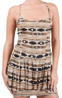 Volcom Southside Dress - sand - view large