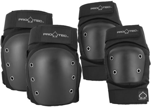 ProTec Street Knee & Elbow Skate Pad Set - view large