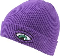 Toy Machine Sect Eye Dock Beanie - purple