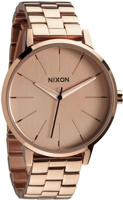 Nixon Kensington Watch - all rose gold - view large