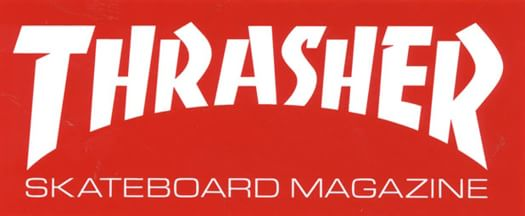"Thrasher Skate Mag Medium 6"" Sticker - view large"