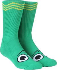 Toy Machine Turtle Boy Crew Sock - green