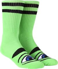Toy Machine Sect Eye III Crew Sock - green