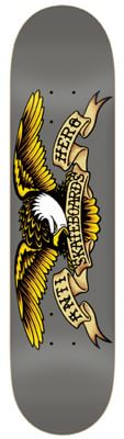 Anti-Hero Classic Eagle Larger 8.25 Skateboard Deck - grey - view large