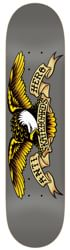 Anti-Hero Classic Eagle Larger 8.25 Skateboard Deck - grey
