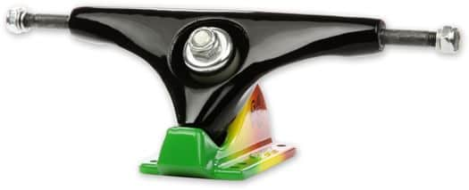 Gullwing Charger Longboard Trucks - black/rasta - view large