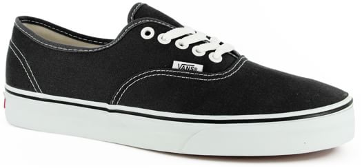 Vans Authentic Skate Shoes - black - view large