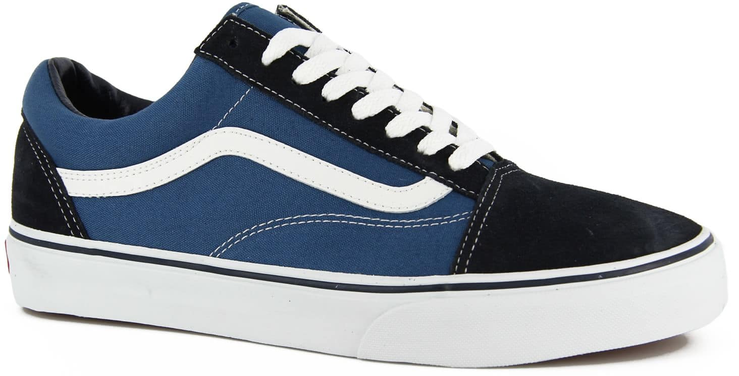 old skool vans blau