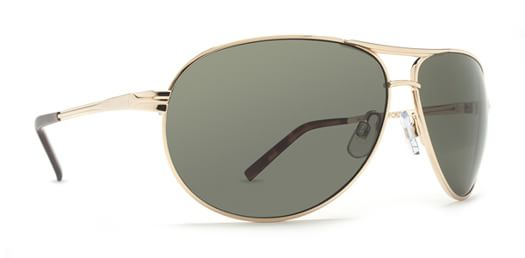 Dot Dash Buford T Sunglasses - gold/grey lens - view large