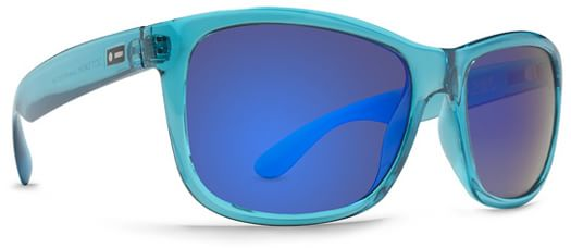 Dot Dash Poseur Sunglasses - blue translucent/blue chrome lens - view large