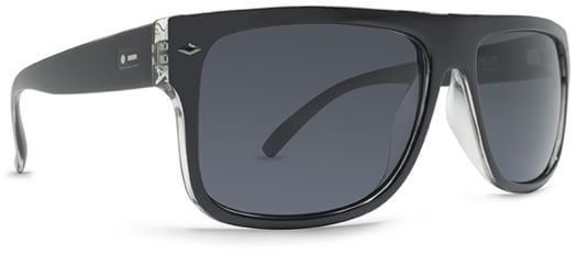 Dot Dash Sidecar Sunglasses - black clear/grey lens - view large