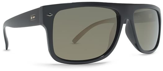 Dot Dash Sidecar Sunglasses - black satin/gold chrome lens - view large