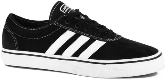 Adidas Adi Ease Skate Shoes - black/white/black - view large